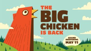 OTP Landmark Big Chicken Gets Renovation