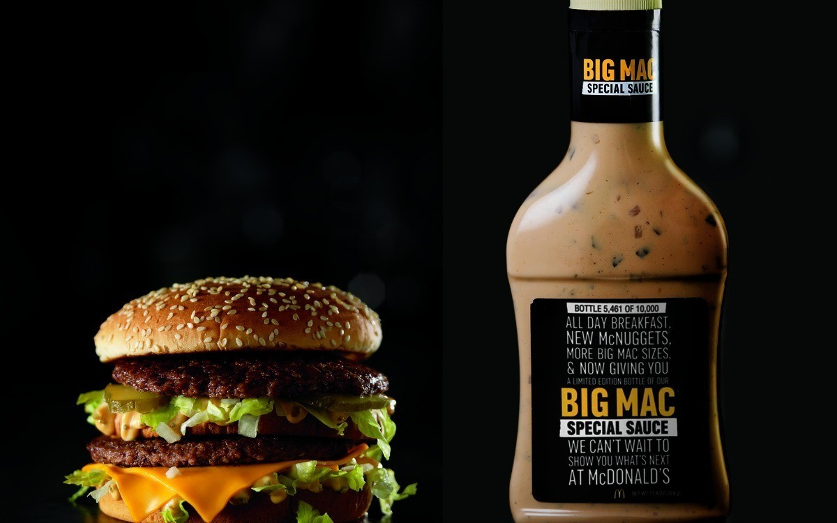 Where can you snag a free bottle of Special Sauce? There are only 6 ...