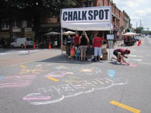 The Chalk Spot @ Glover Park on the Marietta Square | Marietta | Georgia | United States