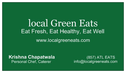 local green eats