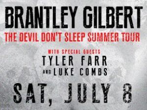 Brantley Gilbert with Tyler Farr and Luke Combs @ Verizon Amphitheatre | Alpharetta | Georgia | United States