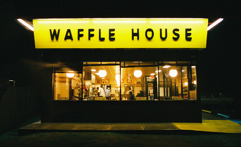 The Jukebox At Each Waffle House Plays A Variety Of The Now Famous Songs  And Associates Give Customers A Heartfelt Greeting As They Walk Through The  Door.
