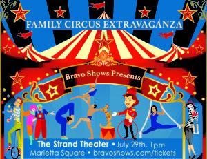 Family Circus Extravaganza @ The Earl Smith Strand Theater | Marietta | Georgia | United States