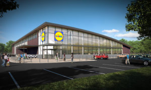 Lidl in the Works in Woodstock