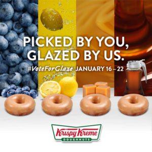 Vote for the Latest Krispy Kreme Flavor