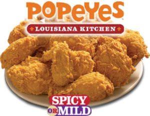 Popeye's Louisiana Chicken Grand Opening in Canton