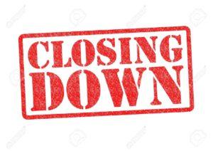 Closings Around Town