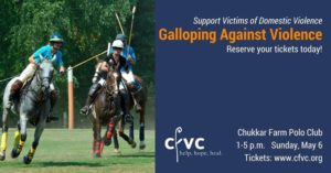 Galloping Against Violence