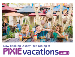 Disney World Free Dining Available