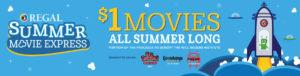 Regal Theaters $1.00 Movies @ Regal Cinemas