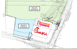 Chick-fil-A & Dunkin Donuts Planned for Hickory Flat