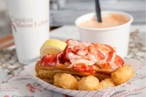 Cousins Maine Lobster Brick & Mortar Opening