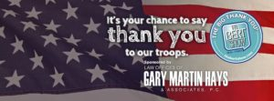 The Bert Show's Big Thank You Campaign