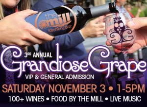 Grandiose Grape Wine Festival @ The Mill Kitchen and Bar | Roswell | Georgia | United States