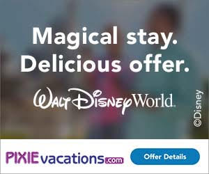 Pixie Vacations - Disney Free Dining Ad Unit