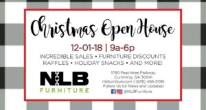 NLB Furniture's Holiday Open House @ NLB Furniture | Cumming | Georgia | United States