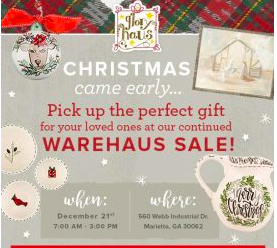 GLORY HAUS WAREHAUS SALE @ Glory Haus Warehouse
