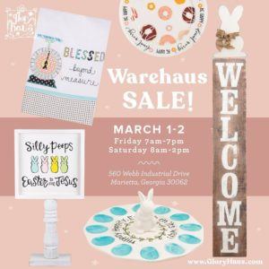 Glory Haus Spring Warehouse Sale @ Glory Haus Warehouse