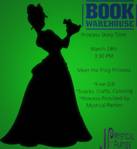 Princess Story Time @ BookWarehouse Atlanta