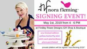 Nora Fleming Signing Event at Findlay Rowe Designs @ Findlay Rowe Designs Gift Shop & Boutique