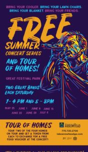 FREE Summer Concert Series & Tour of Homes @ Great Festival Park at Lake Arrowhead