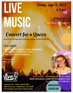 Live Benefit Concert for a Queen @ Connect Live