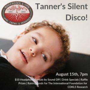 Tanner's Silent Disco @ Rootstock & Vine