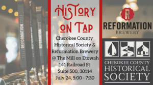 History On Tap @ Reformation Brewery
