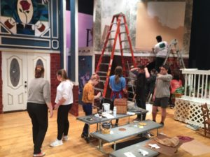 THEATRE WORKSHOP: How to Build & Design Stage Sets @ CVHS