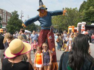 Scarecrow Harvest @ Brooke Street Park