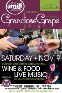 Grandiose Grape Wine Festival @ The Mill Kitchen and Bar
