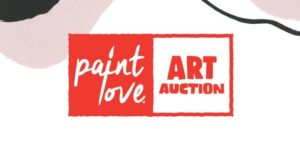 Fourth Annual Paint Love Art Auction @ Color Wheel Art Studio