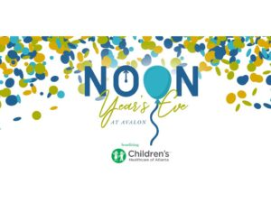 Noon Year's Eve @ The Hotel at Avalon & Alpharetta Conference Center