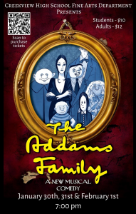 Addams Family Play @ Creekview High School