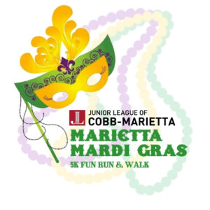 Marietta Mardi Gras 5K Fun Run & Walk @ Historic Marietta Square