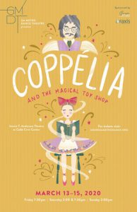 GA Metro Dance Presents the Comedy Ballet Coppélia and the Magical Toy Shop @ Jennie T. Anderson Theatre at the Cobb Civic Center