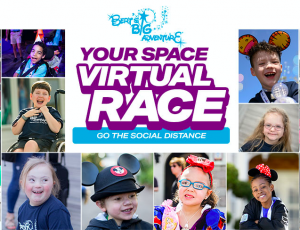 Your Space Virtual Race benefiting Bert's Big Adventure @ Multiple Locations